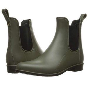 Sam Edelman Tinsley Moss Green Matte Rain Boot